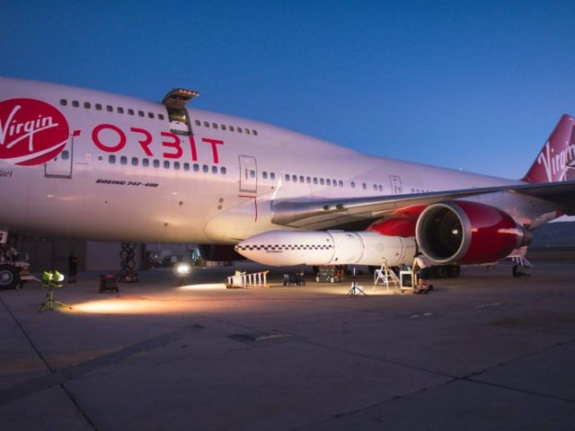 Virgin Orbit released a rocket from airborne 747 (3)