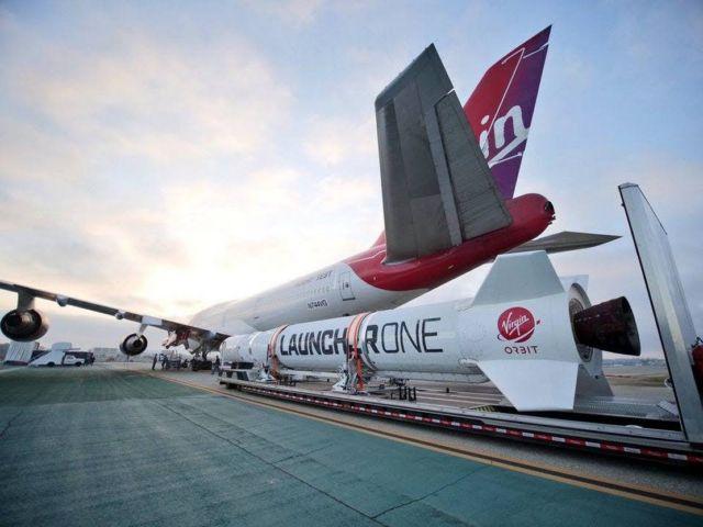 Virgin Orbit released a rocket from airborne 747 (2)
