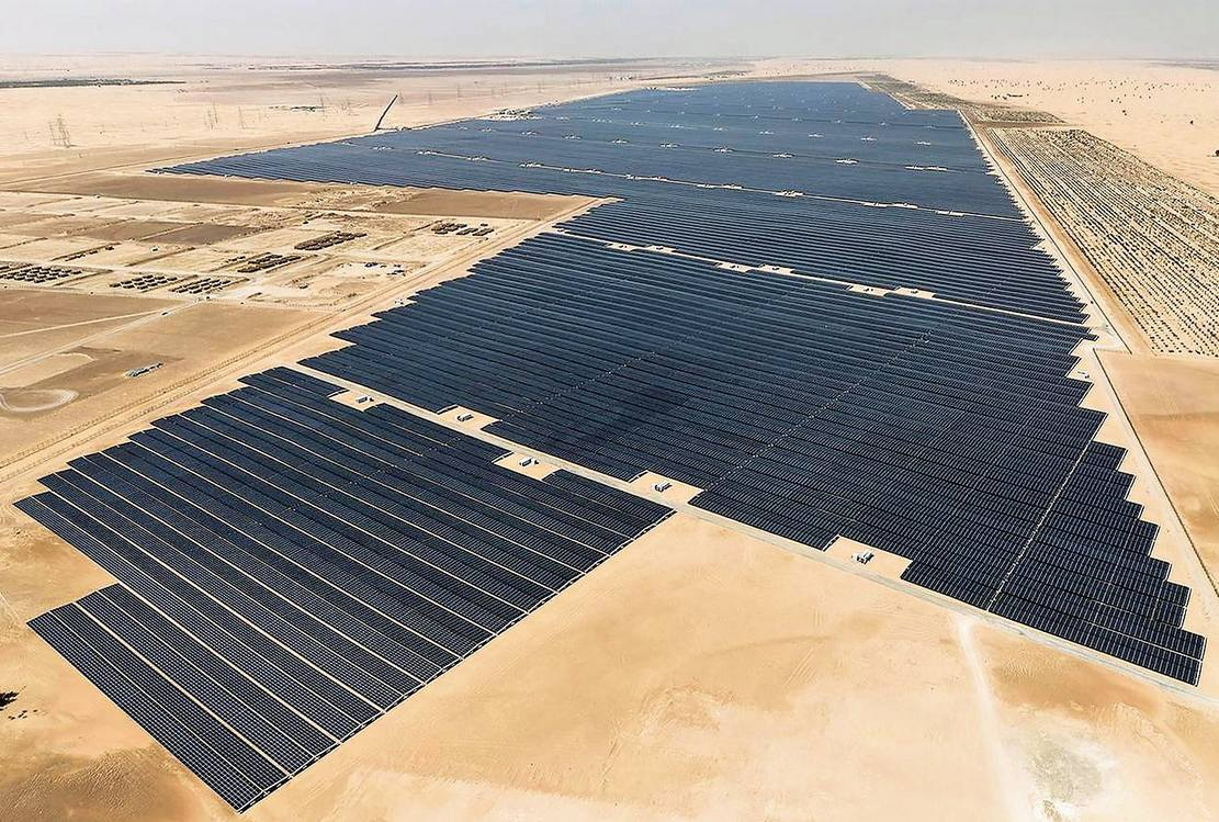 World's largest single solar plant