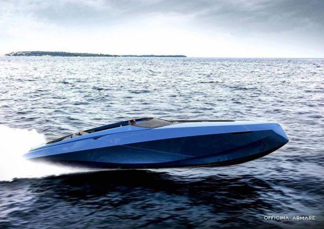 A43 Concept X Lamborghini Day Cruiser