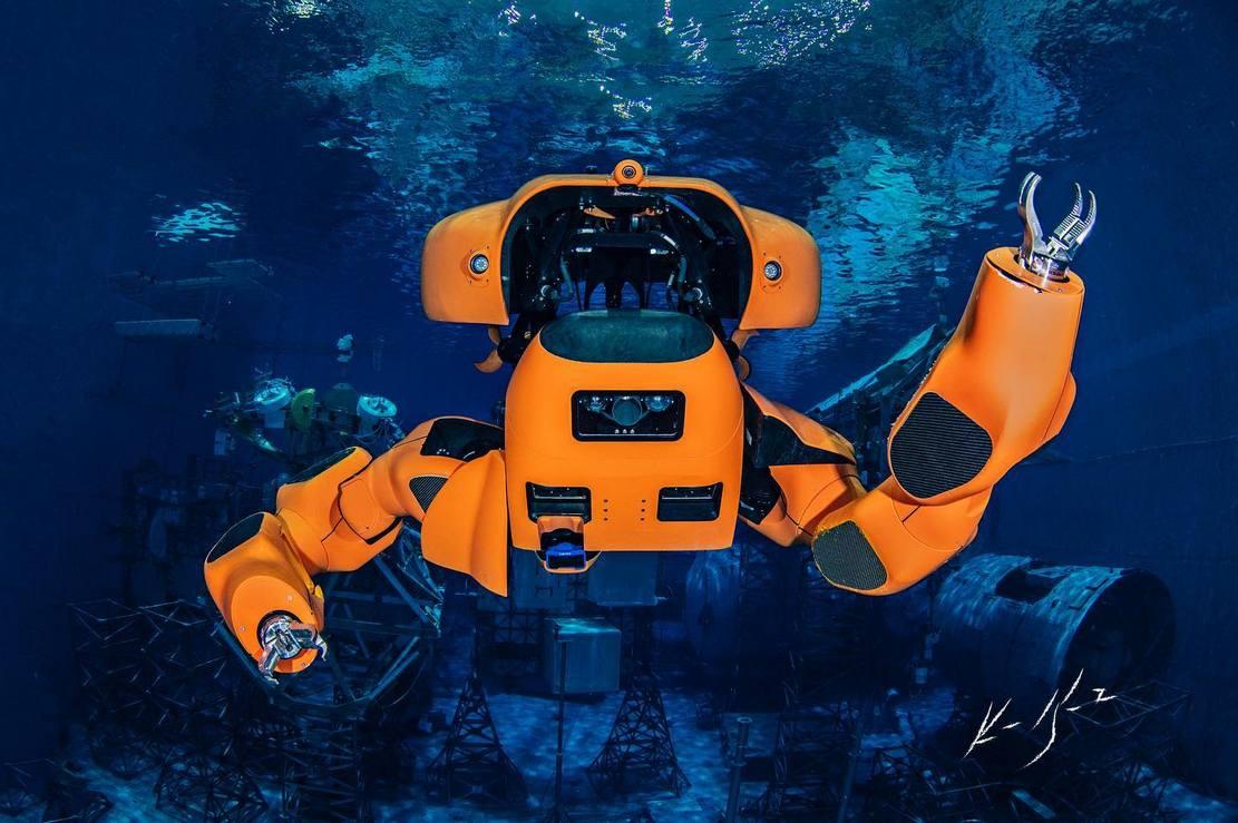 Aquanaut underwater robot