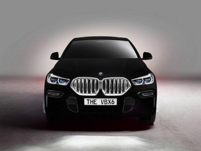 BMW unveils world's Darkest Car