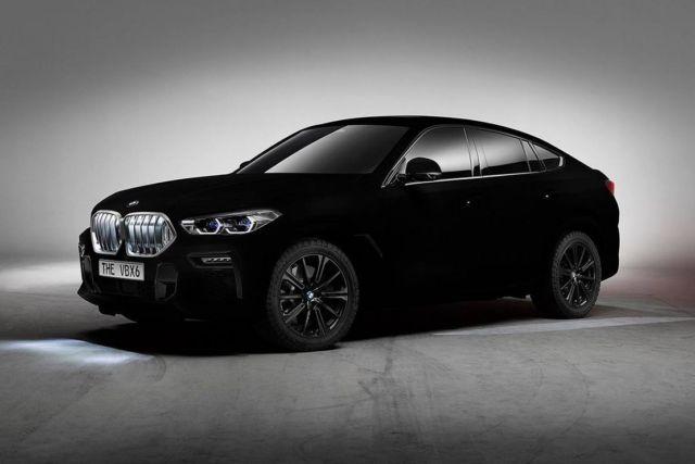 BMW unveils world's Darkest Car (1)