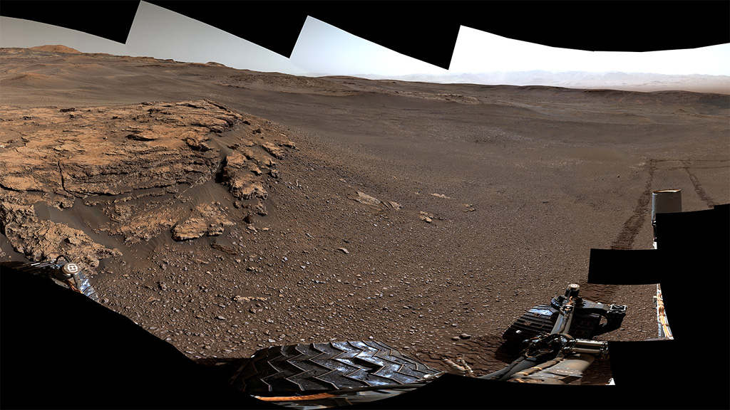 Curiosity Rover- Seven Years After Landing