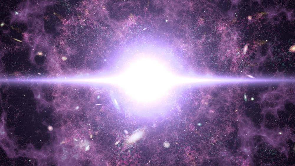 Dark matter may be older than the Big Bang