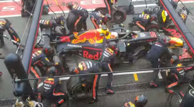 F1 record breaking pit stop 1.88 seconds