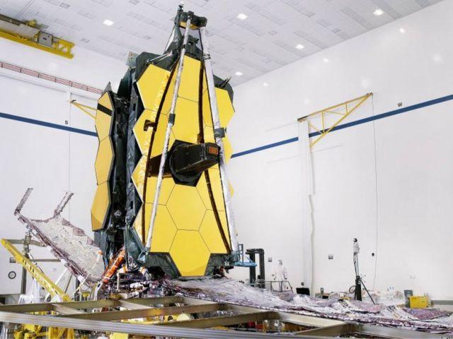 James Webb Space Telescope Has Been Assembled