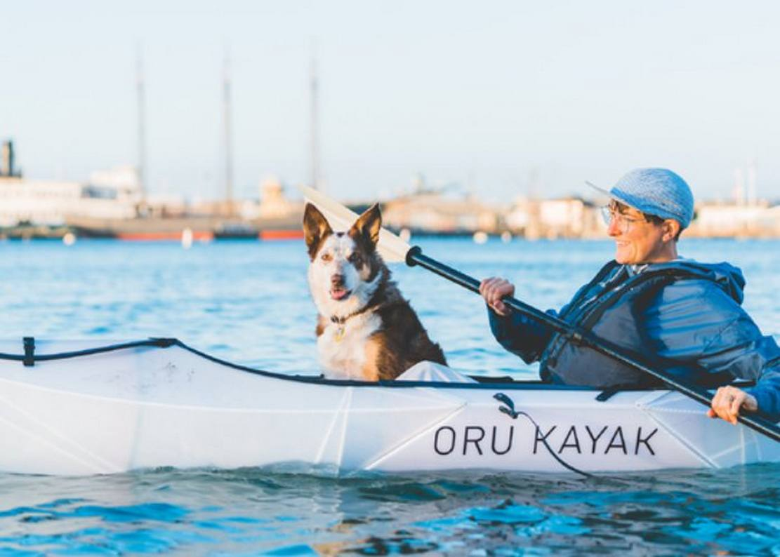 Most Portable Origami Kayak ever