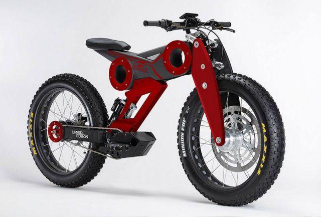 Moto Parilla electric bike