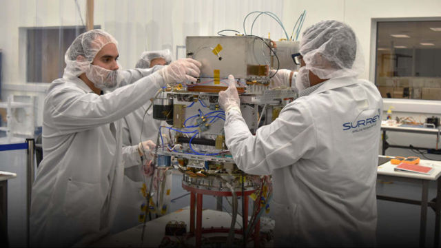 NASA's Deep Space Atomic Clock activated