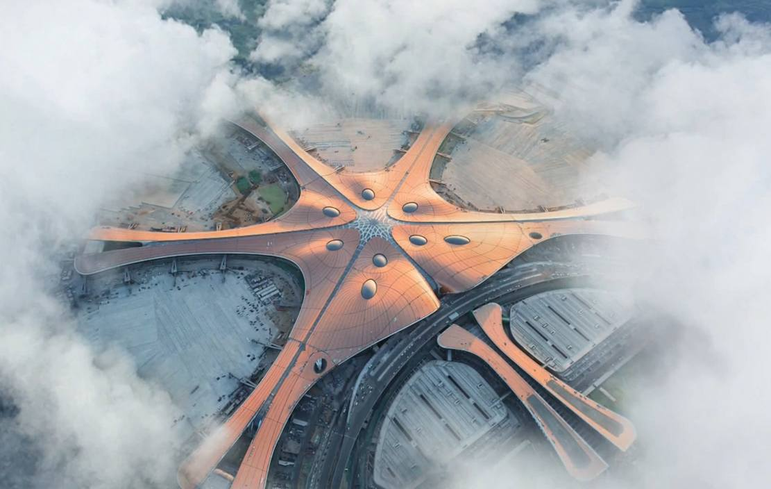 New video tours Zaha Hadid's Daxing Airport