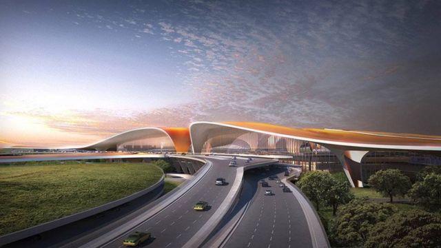 Zaha Hadid's Daxing Airport (6)