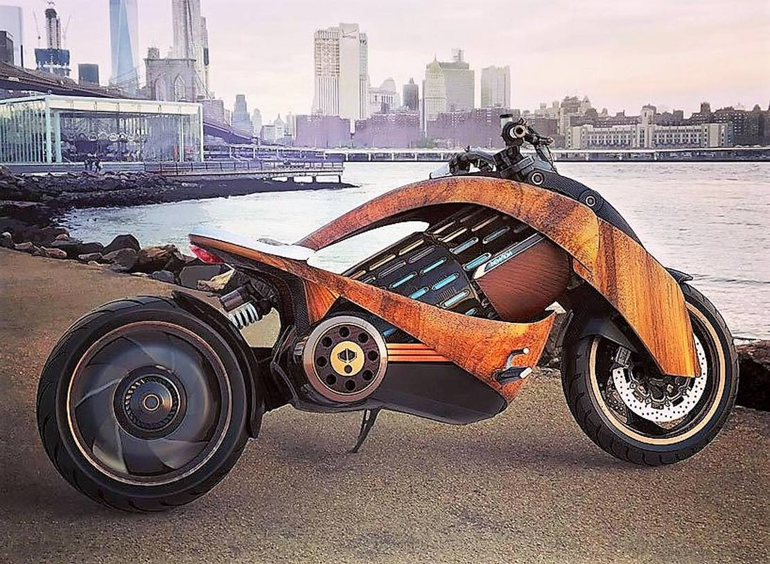 Newron Electric motorcycle