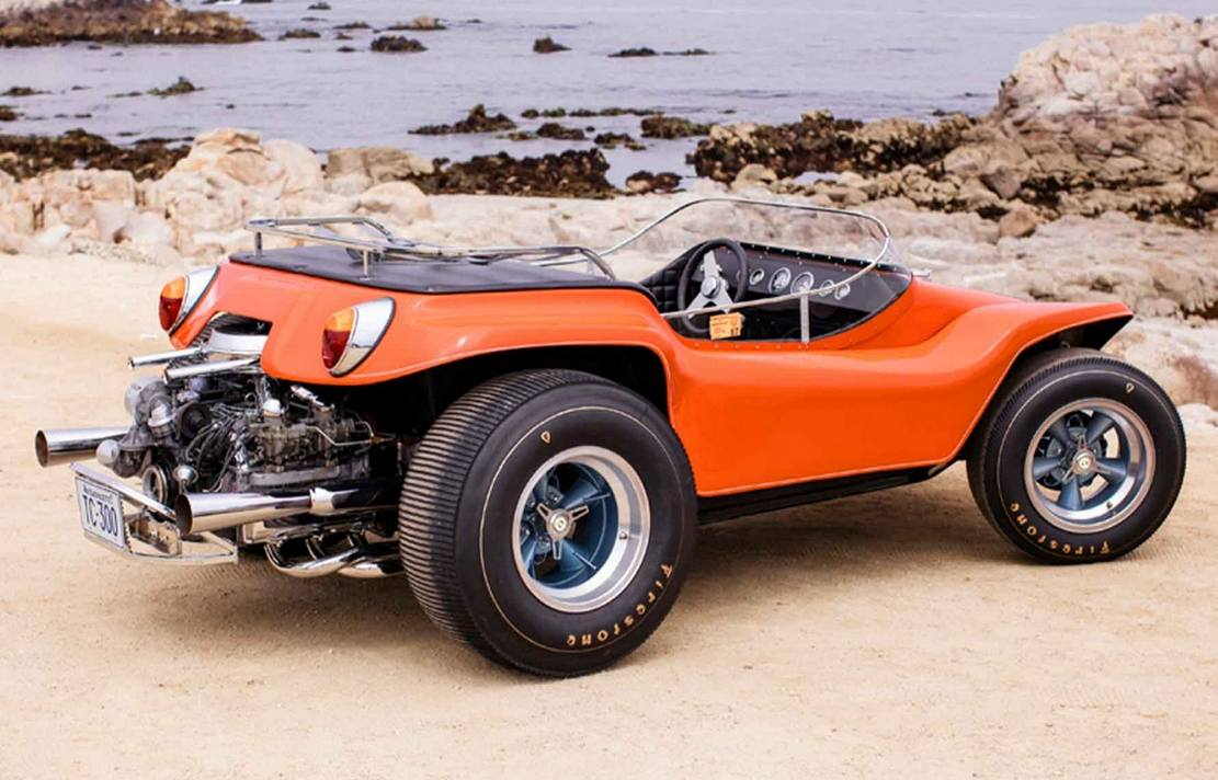 Steve McQueen's Dune Buggy heads for auction