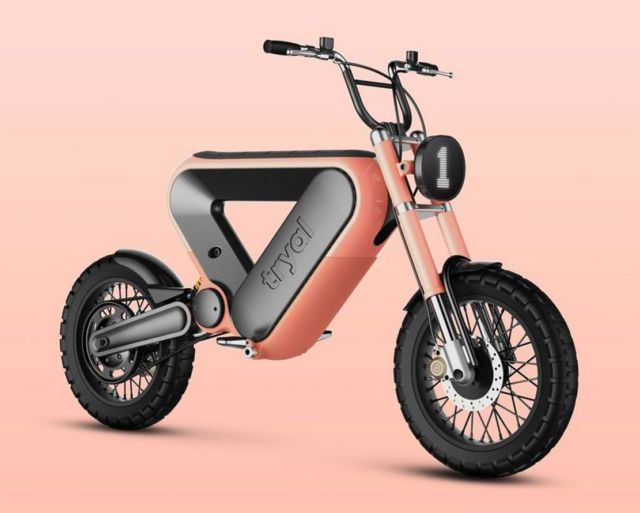 The Tryal electric motorcycle