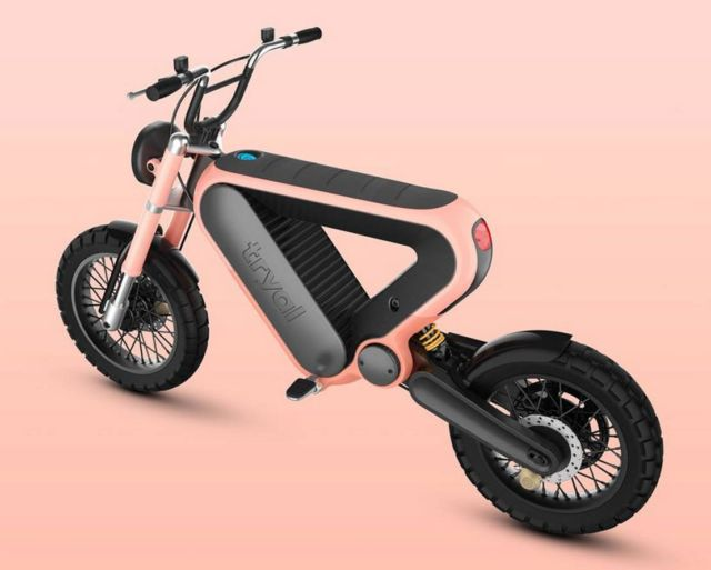 The Tryal electric motorcycle (2)