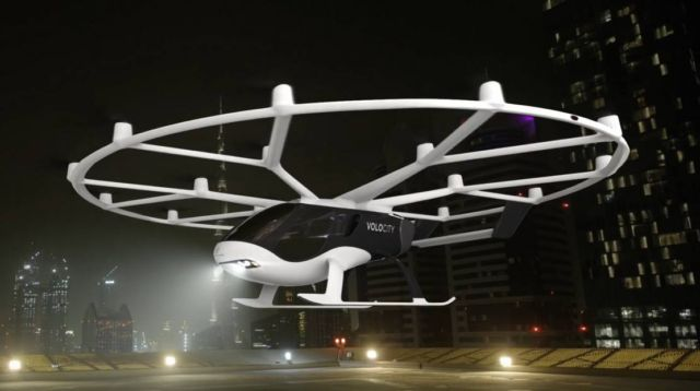 Volocopter's first Autonomous Flying Taxi