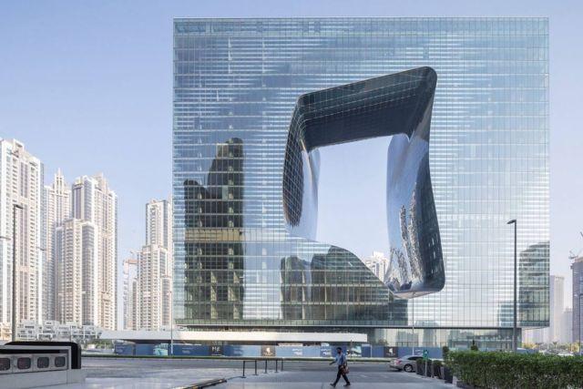 Zaha Hadid's Opus building