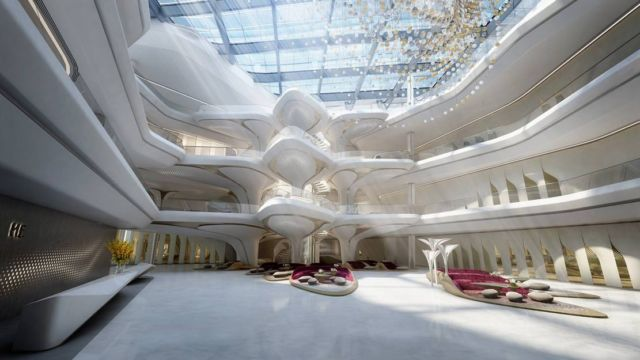 Zaha Hadid's Opus building (5)
