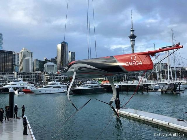America's Cup Team NZ reveal their new boat