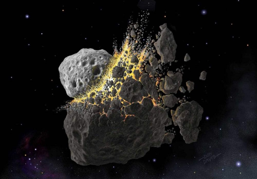 An Asteroid Collision changed Life on Earth forever