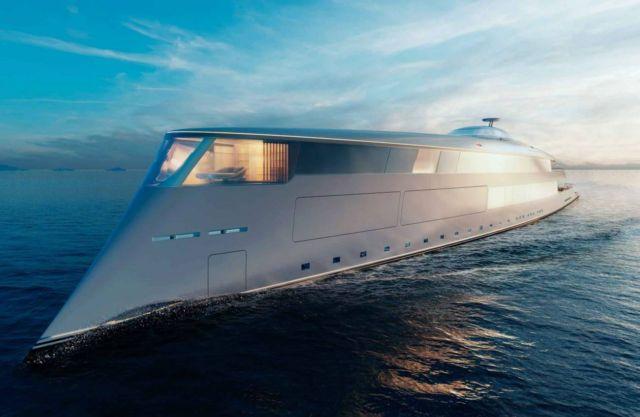 Aqua Superyacht Concept