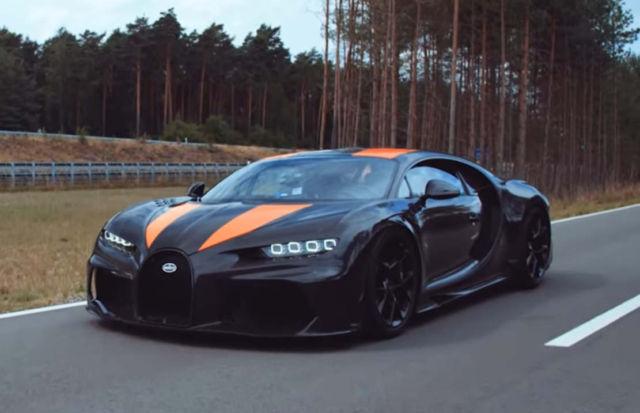 Bugatti Chiron breaks through magic 300mph barrier