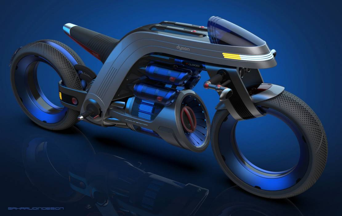Dyson inspired Concept Motorcycle (5)