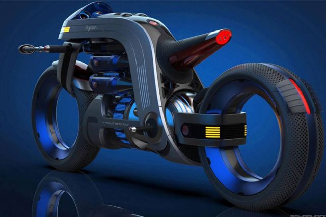 Dyson inspired Concept Motorcycle (4)