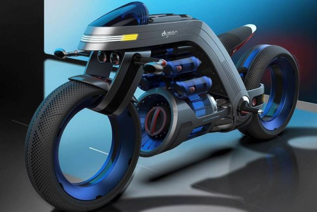 Dyson inspired Concept Motorcycle (3)