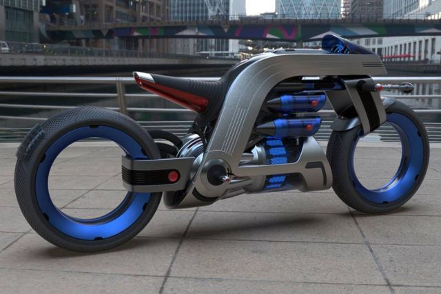 Dyson inspired Concept Motorcycle (2)