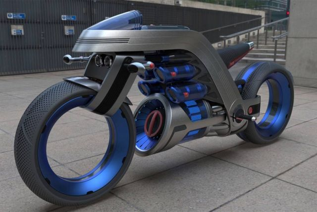 Dyson inspired Concept Motorcycle (1)