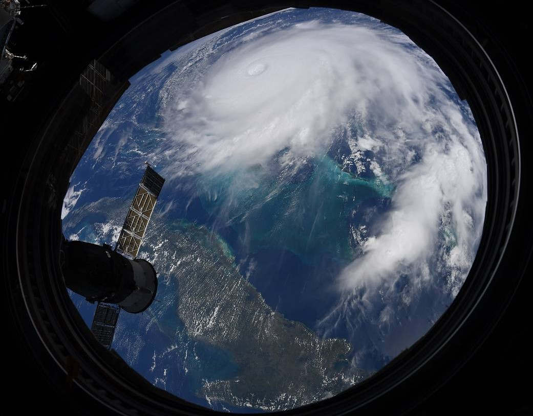 Hurricane Dorian seen from the Space Station