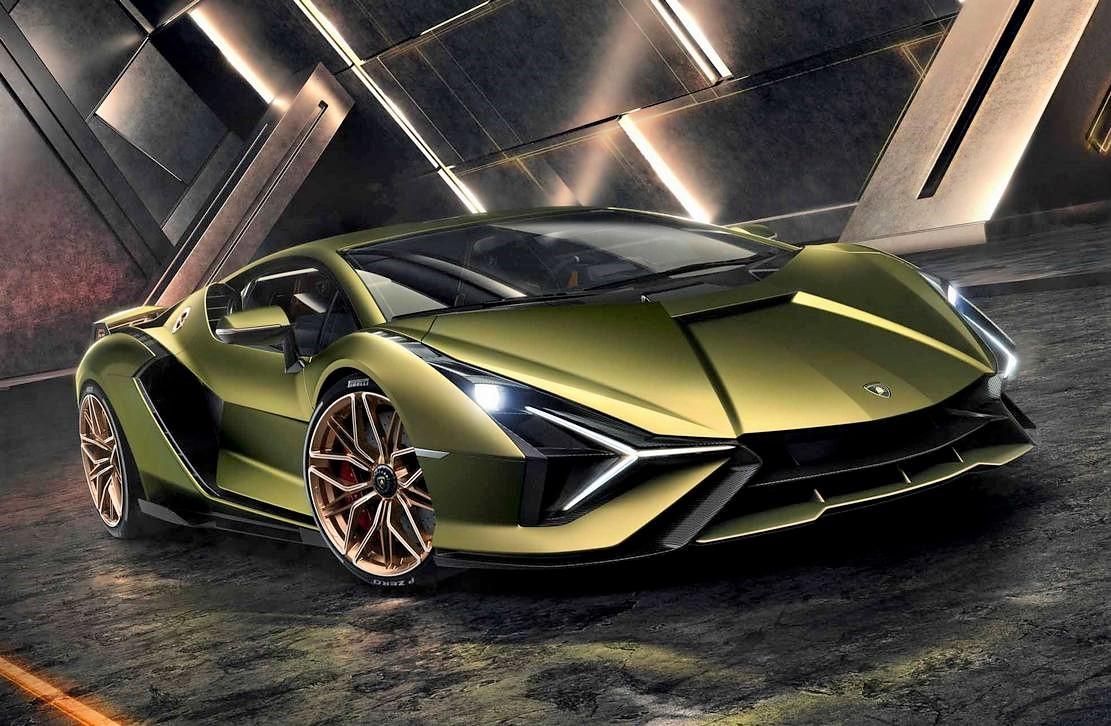 Lamborghini Sián supercar (13)
