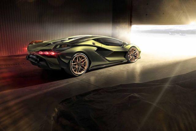 Lamborghini Sián supercar (4)