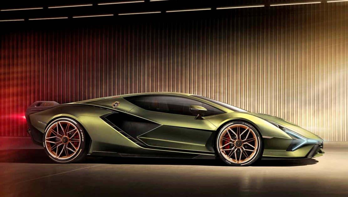 Lamborghini Sián supercar (1)