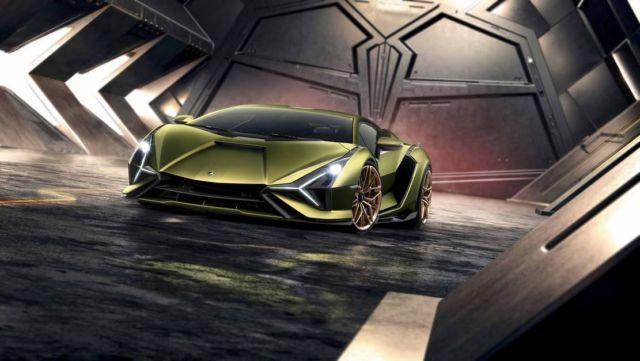 Lamborghini Sián supercar (12)