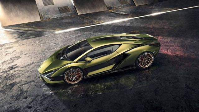 Lamborghini Sián supercar (11)