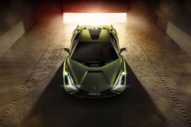 Lamborghini Sián supercar (9)