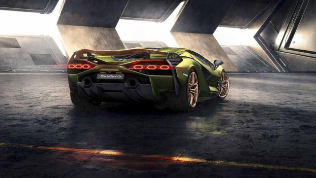 Lamborghini Sián supercar (8)