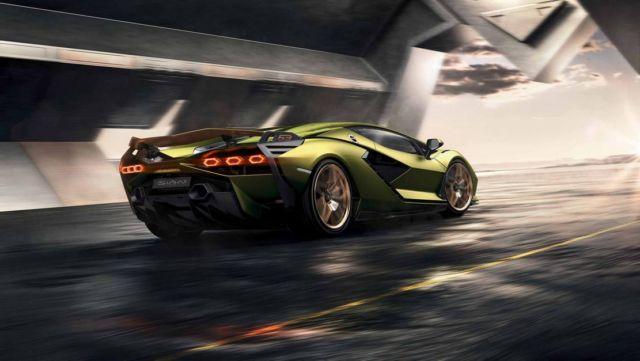Lamborghini Sián supercar (7)