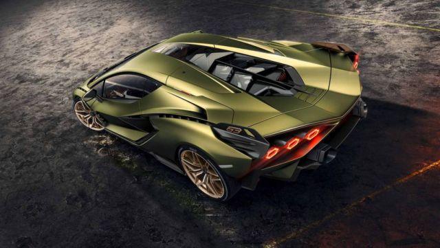 Lamborghini Sián supercar (6)