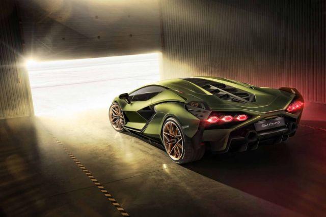 Lamborghini Sián supercar (5)