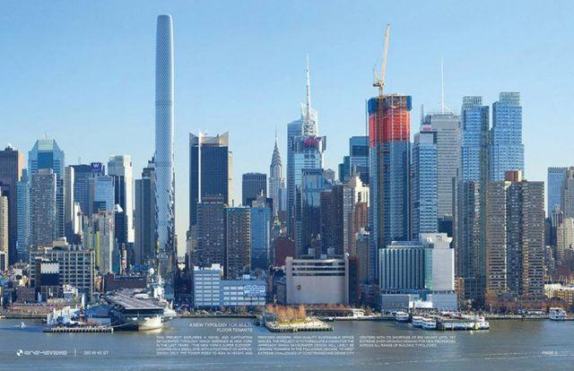 The New York's Super Slender Manhattan's next Supertall Skyscraper
