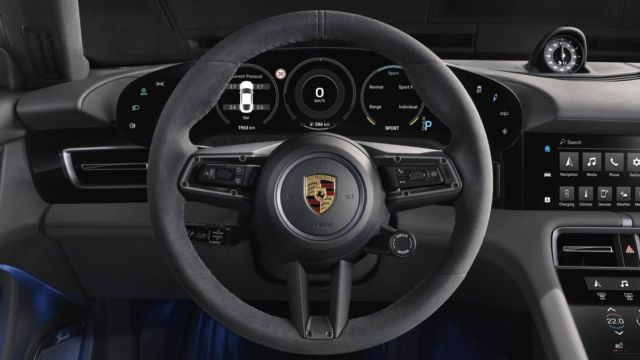 New Porsche Taycan officially unveiled (2)