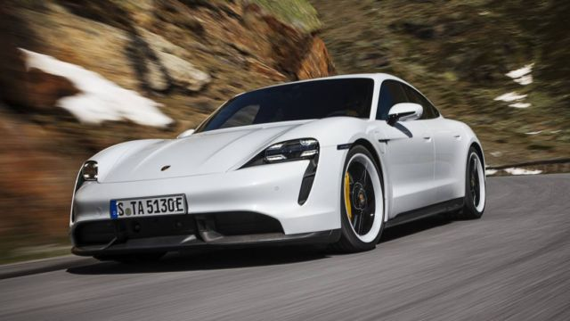 New Porsche Taycan officially unveiled (12)