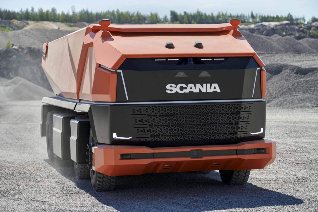Scania AXL- Cabless autonomous concept Truck