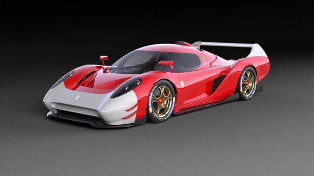 Scuderia Cameron Glickenhaus 007 LMP1 hypercar