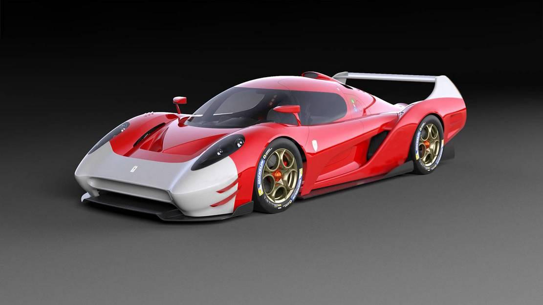 Scuderia Cameron Glickenhaus 007 LMP1 car (5)