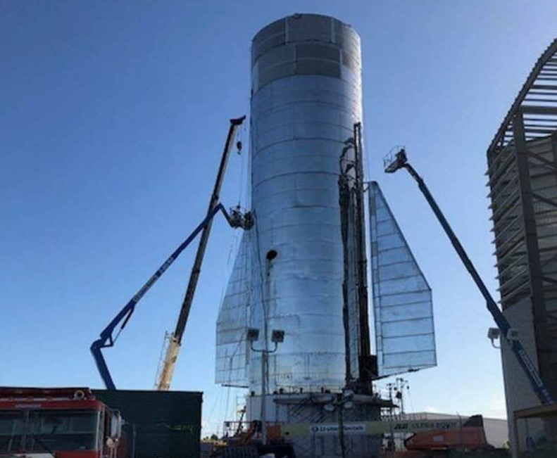 SpaceX Starship is taking shape